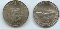1 Peso 1984 Kuba M#3195 Frachtschiff La Flota Mercante de Cuba Unzirkul... 11,00 EUR