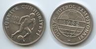 100 Lira 1982 Türkei M#3410 - Fussball WM Spanien st  6,50 EUR
