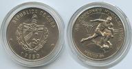 1 Peso 1986 Kuba M#3411 Fussball WM Spanien 86 unz  8,00 EUR