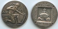 Silbermedaille 1906 Deutsches Bundesschiessen München M#3411  Deutsches... 125,00 EUR