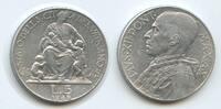 5 Lire 1948-X Vatikan M#3023 Pius XII.1939-1958 Vaticano sehr schön  10,00 EUR