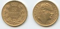 20 Dinara 1882 V Serbien M#3383 Milan Obrenovich IV.1868-1889 Republika... 400,00 EUR