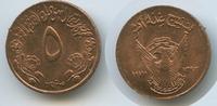 5 Millim AH1393-1973 Sudan M#3273 unzirkuliert  3,50 EUR