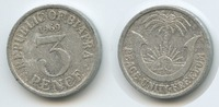 3 Pence 1969 Biafra M#3589 - Republic of Biafra Peace Unity Freedom seh... 38,00 EUR