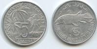 5 Francs 1992 Komoren M#3290 - Quastenflosser Fisch Comores unzirkuliert  3,50 EUR  zzgl. 4,00 EUR Versand