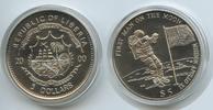 5 Dollars 2000 Liberia M#3413  - First Man on the mon - Mission Apollo ... 8,00 EUR  zzgl. 4,00 EUR Versand