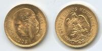 5 Pesos 1955 Mexiko M#3369 - Gold Vorzüglich-Unzirkuliert  165,00 EUR  zzgl. 4,50 EUR Versand