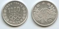 1000 Yen 1964 (Jahr 39) Japan M#3407 Hirohito (Showa) Olympiaden 1964 T... 32,00 EUR  zzgl. 4,00 EUR Versand
