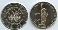 5 Dollars 2000 Liberia M#5003 Liberty New York 1886 Freiheitsstatue unz... 9,00 EUR  zzgl. 4,00 EUR Versand