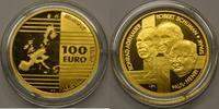 100 Euro Gold 2002 Belgien M#0011 Konrad Adenauer,  Robert Schumann, Pa... 790,00 EUR kostenloser Versand