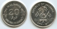 20 Rufiyaa AH1397-1977 Malediven M#5009 Fishes, Palm F.A.O. unzirkuliert  22,00 EUR  zzgl. 4,00 EUR Versand