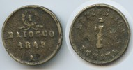 1 Baiocco 1849 A Italien Roman Republic Ancona M#3022 Pius IX.1846-1878... 55,00 EUR  zzgl. 4,00 EUR Versand