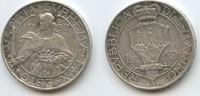 10 Lire 1932 R San Marino M#3627 RAR Auflage nur 25.000 Stück! sehr sch... 32,00 EUR  zzgl. 4,00 EUR Versand
