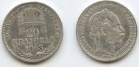 20 Krajczar 1868 GYF Österreich-Ungarn Siebenbürgen Karlsburg m#3631 - ... 35,00 EUR  zzgl. 4,00 EUR Versand