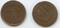 ¼ Kreuzer 1800 A RDR Österreich Habsburg Wien M#3639 Franz II.1792-1835... 18,00 EUR  zzgl. 4,00 EUR Versand