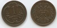 1 Heller 1916 Österreich Kaiserreich M#3647 - Wappen mit Bindenschild S... 12,50 EUR  zzgl. 4,00 EUR Versand