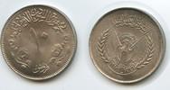 10 Ghirsh AH1396-1976 Sudan M#3611 20th Independence vz-st  4,00 EUR  zzgl. 4,00 EUR Versand