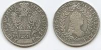 20 Kreuzer 1755 HA RDR Österreich Hall in Tirol M3497 Franz I.1745–1765... 25,00 EUR  zzgl. 4,00 EUR Versand