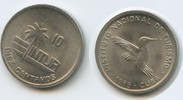10 Centavos 1989 Kuba Intur M#3280 - Kolibri Cuba Vorzüglich +  3,00 EUR  zzgl. 4,00 EUR Versand