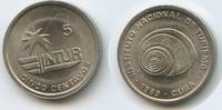 5 Centavos 1989 Kuba Intur M#3281 - Muschel Cuba Vorzüglich +  3,00 EUR  zzgl. 4,00 EUR Versand