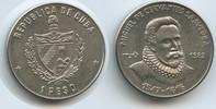 1 Peso 1982 Kuba M#3637 - Miguel de Cervantes Salvedra Unzirkuliert  12,00 EUR  zzgl. 4,00 EUR Versand