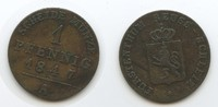 1 Pfennig 1847 A Reuss Schleiz - Jüngere Linie M#3640 - Heinrich LXII. ... 10,00 EUR  zzgl. 4,00 EUR Versand