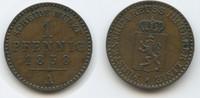 1 Pfennig 1858 A Reuss Schleiz - Jüngere Linie M#3641 -  Heinrich LXVII... 10,00 EUR  zzgl. 4,00 EUR Versand