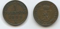 1 Pfennig 1868 A Reuss Obergreiz - Ältere Linie M#3641 - Heinrich XXII.... 10,00 EUR  zzgl. 4,00 EUR Versand