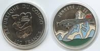 100 Francs 1995 Kongo M#5019 Junkers JU52 Schweiz Multicolor Congo Farb... 17,00 EUR  zzgl. 4,00 EUR Versand
