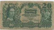 20 Schilling 1928 Banknote Österreich M#6001 Sehr schön  85,00 EUR  zzgl. 4,00 EUR Versand