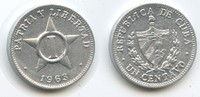 1 Centavo 1963 Kuba M#5037 Vorzüglich  3,00 EUR  zzgl. 4,00 EUR Versand