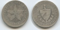20 Centavos 1915 Kuba M#5056 Schön  8,00 EUR  zzgl. 4,00 EUR Versand