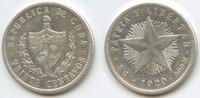 20 Centavos 1920 Kuba M#5057 Sehr schön  12,00 EUR  zzgl. 4,00 EUR Versand