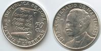 50 Centavos 1953 Kuba M#5061 Centenario de Marti 1853 - 1953 Silber Vor... 20,00 EUR  zzgl. 4,00 EUR Versand