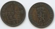 1 Pfennig 1862 A Reuss Schleiz - Jüngere Linie M#3551 -  Heinrich LXVII... 10,00 EUR  zzgl. 4,00 EUR Versand
