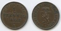 1 Pfennig 1868 A Reuss Schleiz - Jüngere Linie M#3553 -  Heinrich LXVII... 10,00 EUR  zzgl. 4,00 EUR Versand