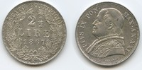 2 1/2 Lire 1867 R Vatikan - Italien M#3556 - Pius IX. 1846-1878 Vorzügl... 125,00 EUR  zzgl. 4,50 EUR Versand