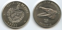 1 Peso 1985 Kuba M#5079 - The Cuban crocodile (Crocodylus rhombifer) Un... 13,00 EUR  zzgl. 4,00 EUR Versand