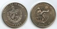1 Peso 1981 Kuba M#5076 - Fussball WM 1982 'Espana 82' Unzirkuliert ... 8,00 EUR  zzgl. 4,00 EUR Versand