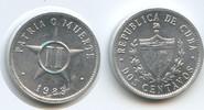 2 Centavos 1983 Kuba M#5039 - Schrötlingsfehler bei Datum Unzirkuliert  2,00 EUR  zzgl. 4,00 EUR Versand