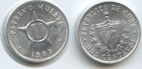 2 Centavos 1985 Kuba M#5040 Unzirkuliert  3,00 EUR  zzgl. 4,00 EUR Versand
