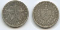 20 Centavos 1920 Kuba M#5055 Schön - Sehr schön  9,00 EUR  zzgl. 4,00 EUR Versand
