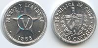 5 Centavos 1968 Kuba M#5043 Unzirkuliert  3,00 EUR  zzgl. 4,00 EUR Versand