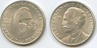 20 Centavos 1953 Kuba M#5070 Centenario de Marti 1853 - 1953 Silber Vor... 12,00 EUR  zzgl. 4,00 EUR Versand