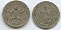 5 Centavos 1946 Kuba M#5073 Sehr schön  3,50 EUR  zzgl. 4,00 EUR Versand