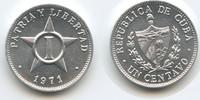 1 Centavo 1971 Kuba M#3559 Unzirkuliert  3,50 EUR  zzgl. 4,00 EUR Versand