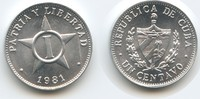 1 Centavo 1981 Kuba M#3560 Unzirkuliert  2,50 EUR  zzgl. 4,00 EUR Versand