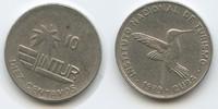 10 Centavos 1989 Kuba Intur M#3570 Cuba Kolibri (kleiner Typ) - 17,5 mm... 6,00 EUR  zzgl. 4,00 EUR Versand
