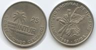 25 Centavos 1989 Kuba Intur M#3574 - Cuba Blume (kleine Zahl) Vorzüglich  3,50 EUR  zzgl. 4,00 EUR Versand