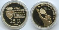 25 Diners 1995 Andorra M#3354 - Gold 7,77 Gramm - Sommer-Olympiade 1994... 240,00 EUR  zzgl. 4,50 EUR Versand